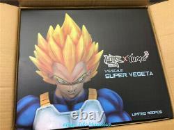 Dragon Ball Z Super Vegeta Statue Résine Modèle Gk Figurine Mrc Peint Nouveau
