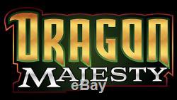 Dragon Premium Collection Majesty Super Box Pokemon Tcg Dragonite Gx 10 Packs