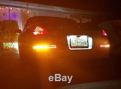 Effacer L'objectif All-in-one Led Turn Signal, Sauvegarde, Lumière De Frein Pour 03-09 Nissan 350z