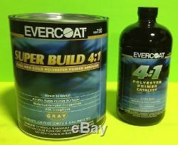 Evercoat Super Kit De Construction Primaire 730 Et 733 Catalyst 41 Ratio Gallon Et Pintes