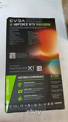 Evga Geforce Gtx 1660 Super Sc Ultra Gaming, 6 Go Gddr6, Ventilateur Double