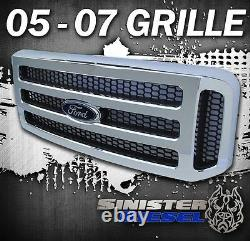 F250 F350 Chrome Ford Grille Super Duty Grille Super Duty