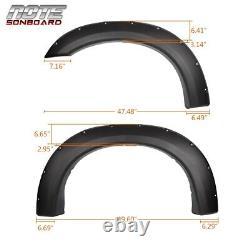 Fender Flares Texturé Rivet De Poche Pour Ford Super Duty F250 F350 99-07