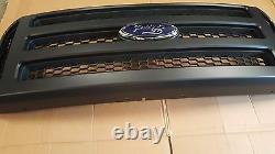 Ford Matte Black Grille Conversion Ajustement 1999-2004 Super Duty F250 F350 F450 F550