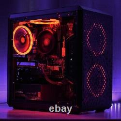 Gaming Pc Rgb Desktop Computer Amd Ryzen, Gtx 1650 Super, 16 Go, 240 Go, 2 To Wifi