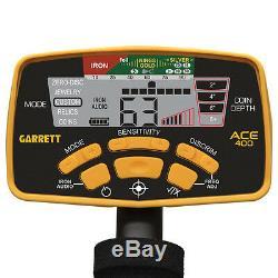 Garrett Ace 400 Détecteur De Métal Avec Un Casque Audio Et Propointer At, Sac Voyage, ++