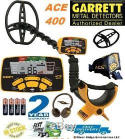 Garrett Ace 400 Détecteur De Métaux, Propointer At, Trésor 55e Anniversaire Spécial