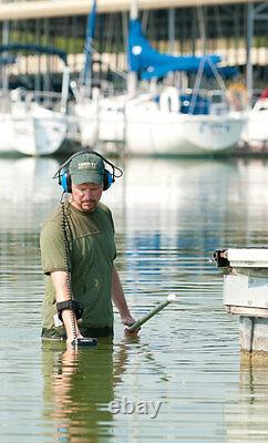 Garrett At Pro Détecteur De Métaux Eau Submersiblefind Goldnew Super Grip