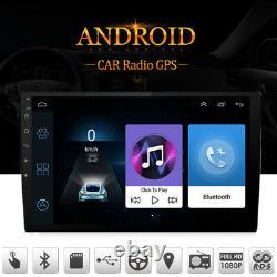 Gps De Voiture 10.1 1080p Écran Tactile 2din Quad-core Lecteur Radio Stéréo Pour Android