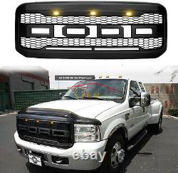 Grille Pour Ford F250 Super Duty F350 2006 2005 2007 Raptor Style Front Bumper Oe