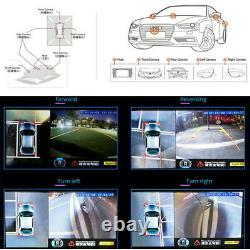 Hd 360 ° Surround System View Oiseau Panorama 4-ch 1080p Enregistrement Dvr Avec 4 Caméras