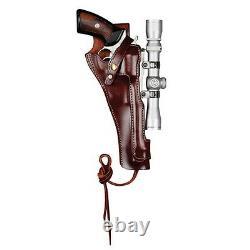 Holster En Cuir Pour Rougeur Éparpillé Redhawk / Super Redhawk 7,5 Barrel #8509