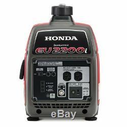 Honda Eu2200i 2200 Watts 120 Volts Générateur Inverter Portable Super Silencieux