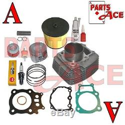 Honda Rancher Trx350 Trx 350 Cylindre Segments De Piston Joint Kit Set 2000-2006