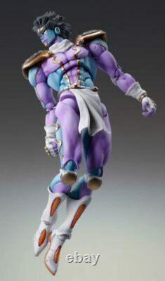 Jojo's Bizarre Adventure Super Action Statue Figure 4ème Partie Star Platinum F/s