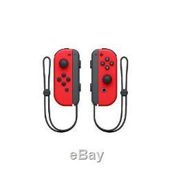 Joy Con (l / R) Contrôleurs Sans Fil Nintendo De Commutateur Super Mario Odyssey Red