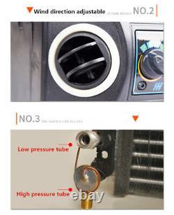 Kit De Climatisation De Voiture 12v Sous Compresseur D'évaporateur De Refroidissement De Tiret 3 Niveau A/c