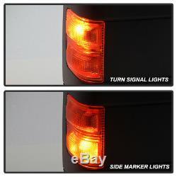 L + R 1999-2007 Ford F250 / F350 Rétroviseurs Extérieurs Remorquage Super Puissant + Chauffants + Émetteurs De Signaux