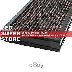 Led Super Magasin 3col / Rgy / Ir 52x19 Programmable Scrolling Cem Affichage Msg Connexion
