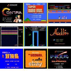 Mini Console Classique Avec Sortie Hdmi 821 Jeux Super Nintendo Intégrés