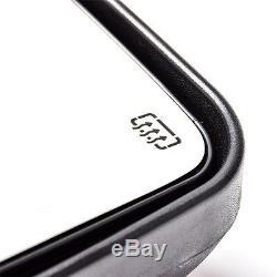 Miroir De Remorquage Pour 99-07 Ford F250 F350 Super Duty Black Power + + Flèche Chauffée Signal