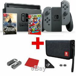 Nintendo Commutateur Super Mario + Zelda + Odyssey Bundle Pdp