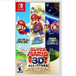 Nintendo Console + Commutateur 32go Minecraft Donjons + Super Mario 3d All-stars