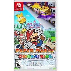 Nintendo Console Switch + Super Mario 3d All-stars + Paper Mario Origami Roi