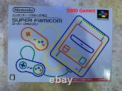 Nintendo Snes Super Famicom Classic Mini 5000 Games Console Livraison Rapide Gratuite