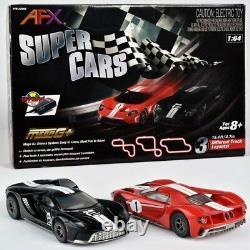 Nouveau Afx 22005 Super Cars Ford Gt Mega G + Tri-power Ho Slot Car Piste Absolvez Sh