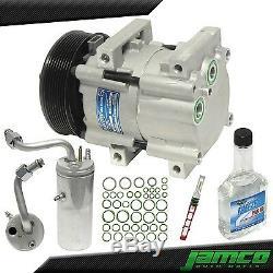 Nouveau Compresseur Kit Ac A / C Pour 99-03 Ford F250 F350 F450 F550 Super Duty 7.3l