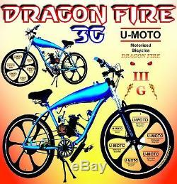 Nouveau Kit De Vélo Motorisé 2 Temps Super Power 80cc Diy Avec 26 Vélos De Réservoir D'essence