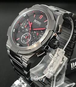 Nouveau Montre Homme Hugo Boss Hb1513361 Chronographe Gun Edition Super Nova Edition Uk