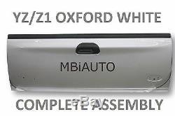 Nouveau Peint Yz / Z1 Blanc Arrière Assemblée Pour Ford F250 Tailgate F350 Super Duty