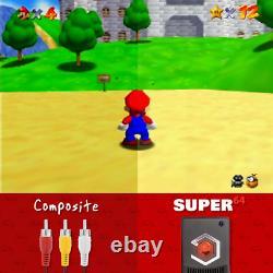 Nouvel Adaptateur Eon Super 64 Hd Pour Nintendo 64 Plug & Play Like Ultra 64 Kit