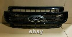 Nouvelle Prise Hors D'origine Grille Fits 2020 Ford Super Duty Lariat Sport Grille Black
