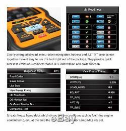 Nt301 Eobd Obd2 Scanner Voiture De Diagnostic Code De Défaut Lecteur Outil D'analyse Check Engine