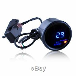 Numérique Turbo Kit De Jauge De Boost Avec Capteur Pour Voiture Automatique 2 LCD 52 MM -1429 Psi Aem
