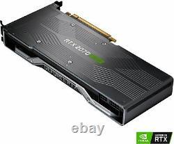 Nvidia Geforce Rtx 2070 De Super 8 Go Gddr6 Pci Express 3.0 Carte Graphique Noir