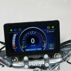 Odomètre Universal 12v Full LCD Display Instrument