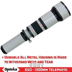 Opteka Super Zoom Pour Canon 60d 70d T7i T6i T6 T5i T5 T4i T3i T3