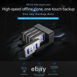 Orico 6558us3-c 5 Bay Super Speed Usb 3.0 D Docking Station Outil Gratuit Usb F3t5