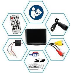 Overhead Roof 1x Moniteur De Voiture Suv Vidéo Media Player Avec Télécommande