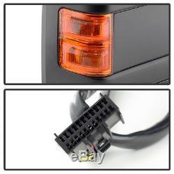 Paire (2) 2008-2016 Ford F250f550 Rétroviseurs Extérieurs Électriques + Chauffants + Clignotants