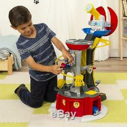 Paw Patrol Puissant Pups Super Paws Lookout Tower Kids Toy Playset Light & Sons