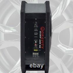 Porté 1200w 12 Audio De Rac Sous Selat Super Slim Powered Subwoofer Enclosure Sub