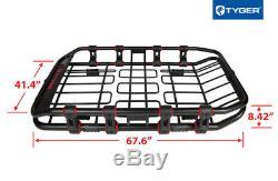 Porte-bagages À Porte-bagages Extensible À Toit Rétractable Tyger De Tyger