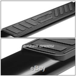 Pour 04-08 Ford F150 Ext / Super Cab 5 Ovale Noir Running Board Side Step Nerf Bar