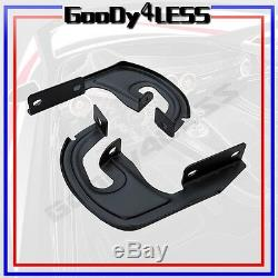 Pour 04-14 Ford F150 Super Cab (extended) Nerf Bars En Aluminium Side Step 5 Ovale Oe