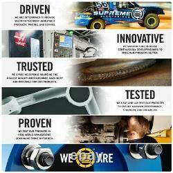 Pour 07-18 Jeep Wrangler Jk Réglable Steering Tie Rod 2wd 4wd Heavy Duty Pro